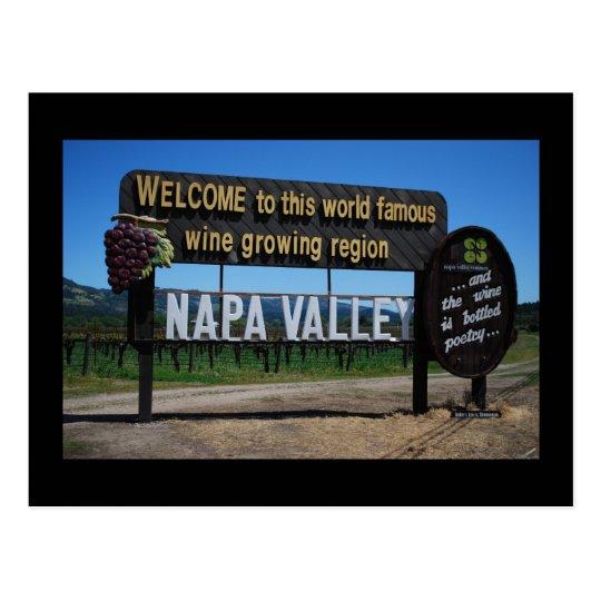 Postal de Napa Valley California
