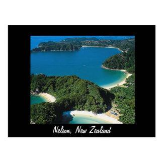 Postal de Nelson Nueva Zelanda