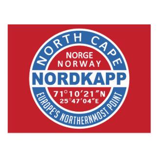 Postal de NORDKAPP Noruega