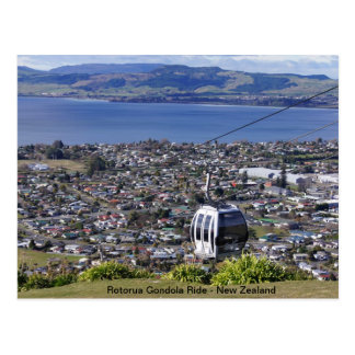 Postal de Nueva Zelanda - Rotorua