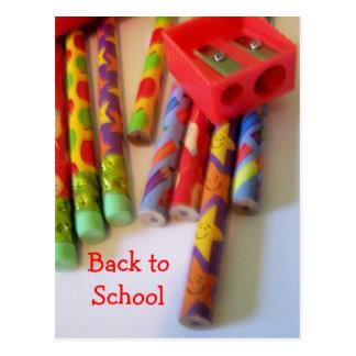 Postal de nuevo a escuela