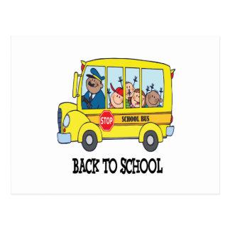 Postal De nuevo a la escuela 3