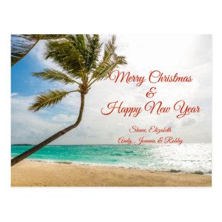 Postal de ocsilación de las Felices Navidad de las