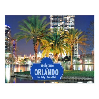 Postal de Orlando la Florida