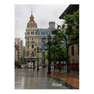 Postal de Oviedo, Asturias