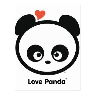 Postal de Panda® del amor