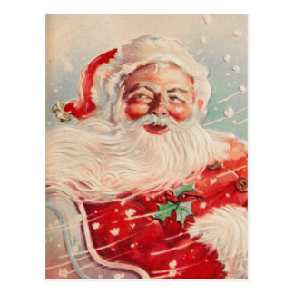 Postal de Papá Noel del Victorian