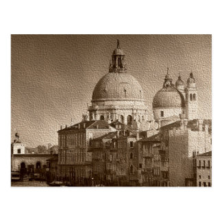 Postal de papel del Gran Canal de Venecia del