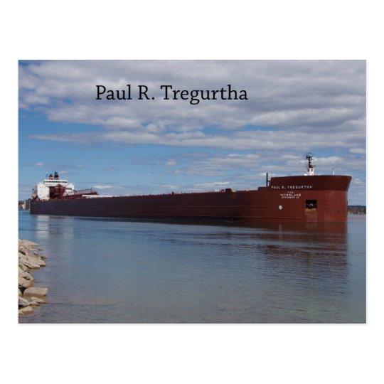 Postal de Paul R. Tregurtha