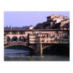 Postal de Ponte Vecchio (puente viejo) el |