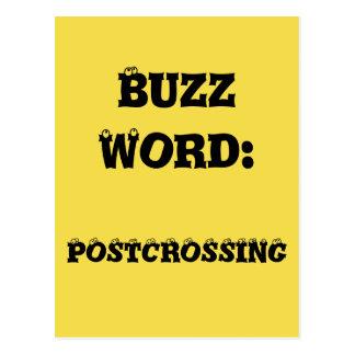 Postal de Postcrossing de la palabra importante