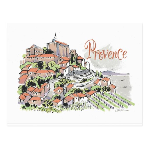 Postal de Provence Gordes