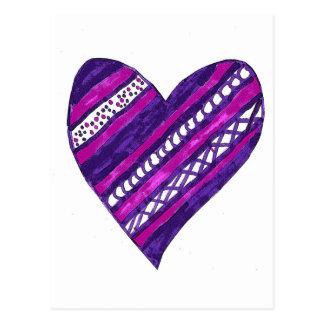Postal de Purple Heart