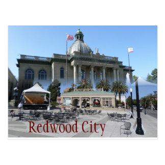 Postal de Redwood City