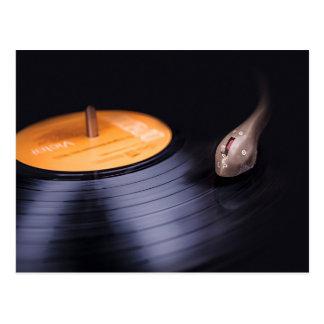 Postal de registro retra de LP