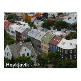 Postal de Reykjavik Islandia