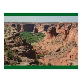 Postal de Rock Canyon de Chelly Arizona de la