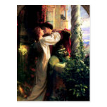 Postal de Romeo y de Juliet