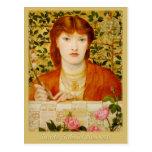 Postal de Rossetti Regina Cordium CC0649