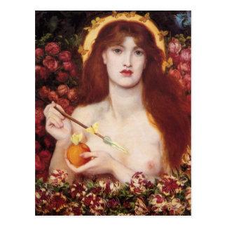 Postal de Rossetti Venus Verticordia CC0645