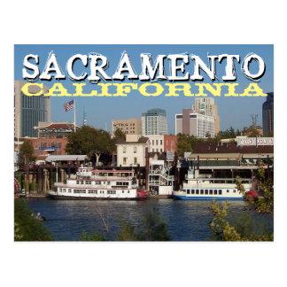 Postal de Sacramento California