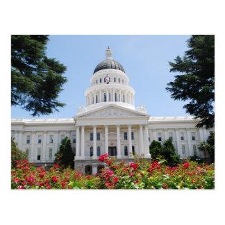Postal de Sacramento del capitolio del estado de