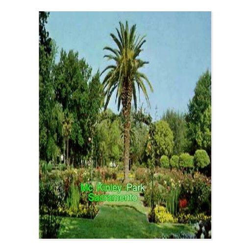 Postal de Sacramento del parque de Mc Kinley