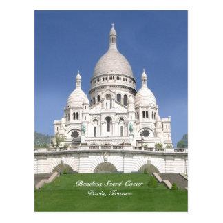 Postal de Sacré-Coeur