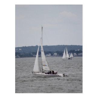 Postal de Sailboating