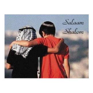 Postal de Salaam Shalom