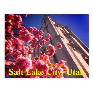 Postal de Salt Lake City, Utah