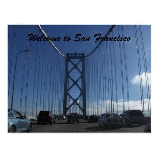 Postal de San Francisco