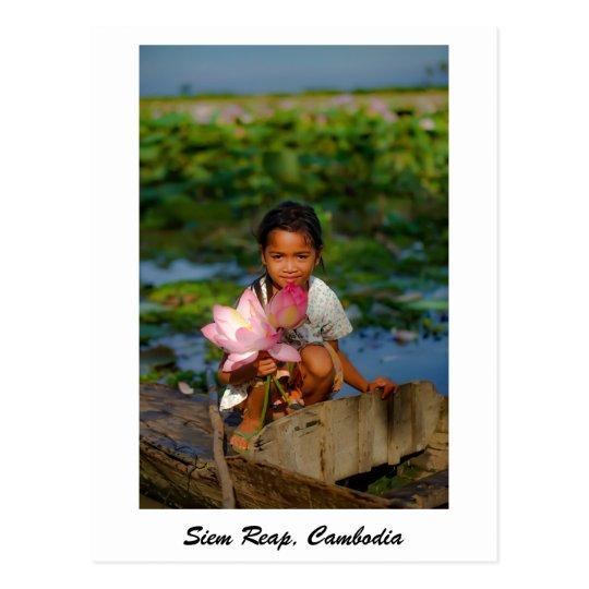 Postal de Siem Reap, Camboya