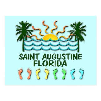 Postal de St Augustine