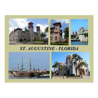 Postal de St Augustine, la Florida