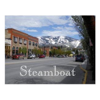 Postal de Steamboat Springs Colorado