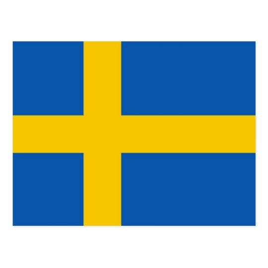 Postal de Suecia Flah