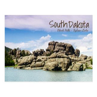 Postal de Sylvan del lago south Dakota