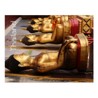 Postal de Tailandia Buda