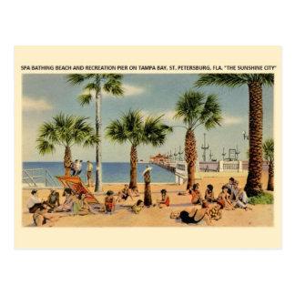 Postal de Tampa Bay St Petersburg la Florida del