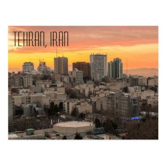 Postal de Teherán, Irán