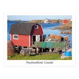 Postal de Terranova, Canadá