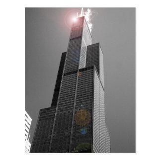 Postal de Torre Sears 2