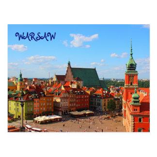 Postal de Varsovia