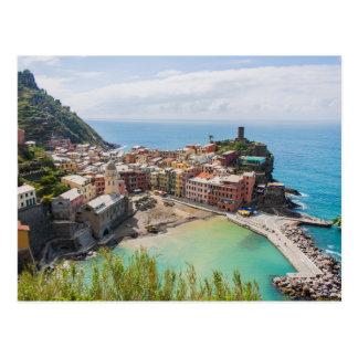 Postal de Vernazza, Cinque Terre, Italia