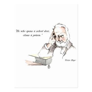 Postal de Victor Hugo