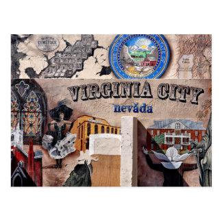 Postal de Virginia City, Nevada