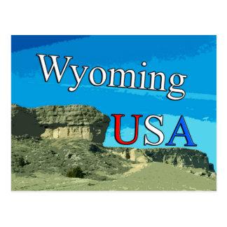 Postal de Wyoming los E.E.U.U.