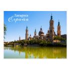 Postal de Zaragoza España