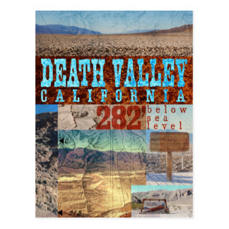 Postal Death Valley, CA: 282' debajo del nivel del mar -